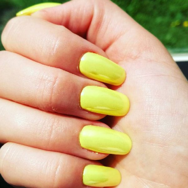 Beaded Neon Yellow