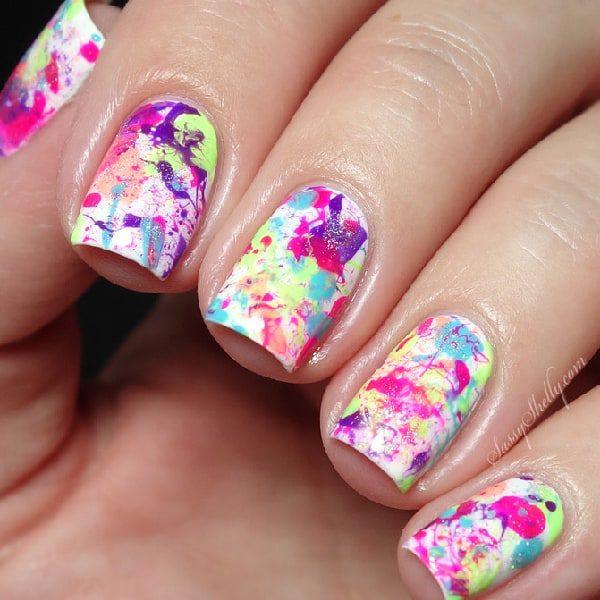 Neon Splatters