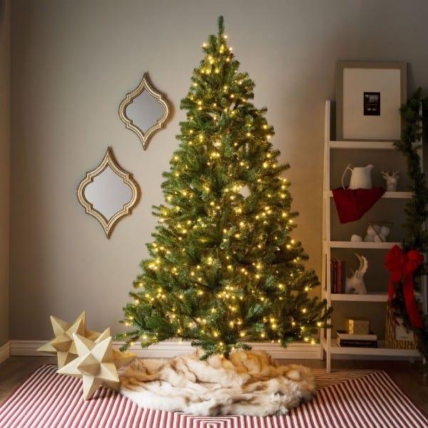 Pre-Lit LED Tree (7 Feet)