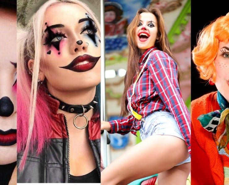Top 5 Scary Clown Makeup Ideas