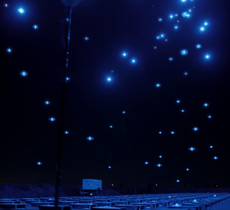 Walmart Drone Light Shows