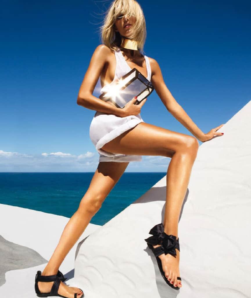 Anja Rubik beautiful legs