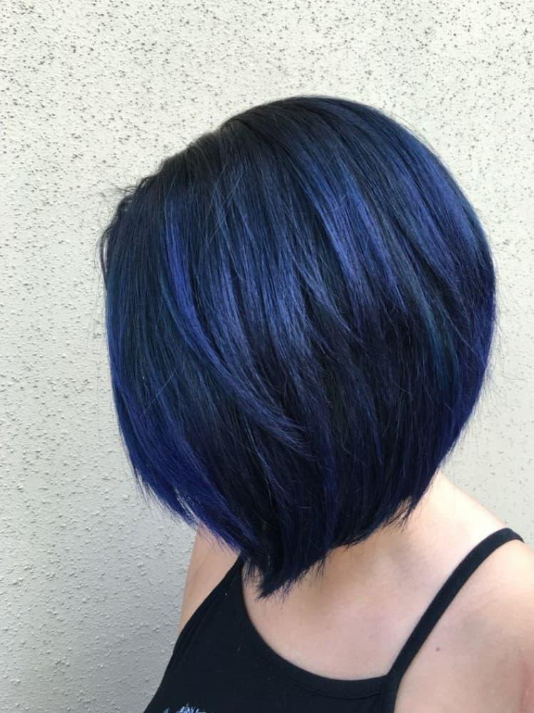 Blue Black Bob