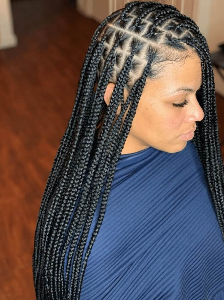 African Box braids