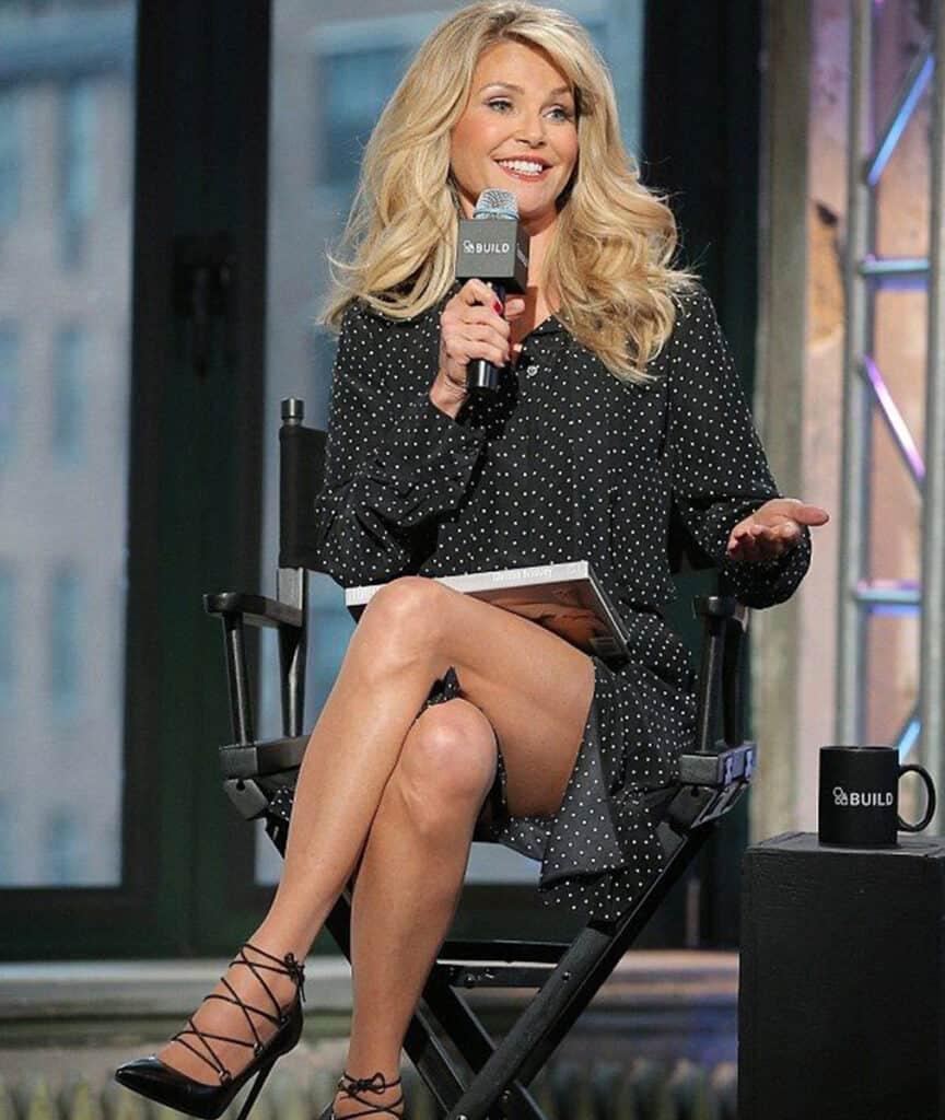 Christie Brinkley beautiful legs