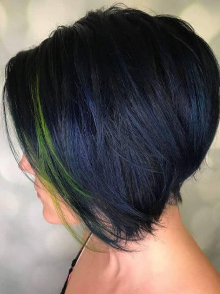 Dark Blue and Black Hue