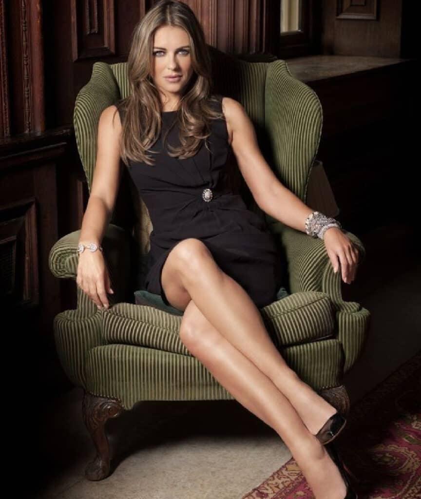 Elizabeth Hurley beautiful legs