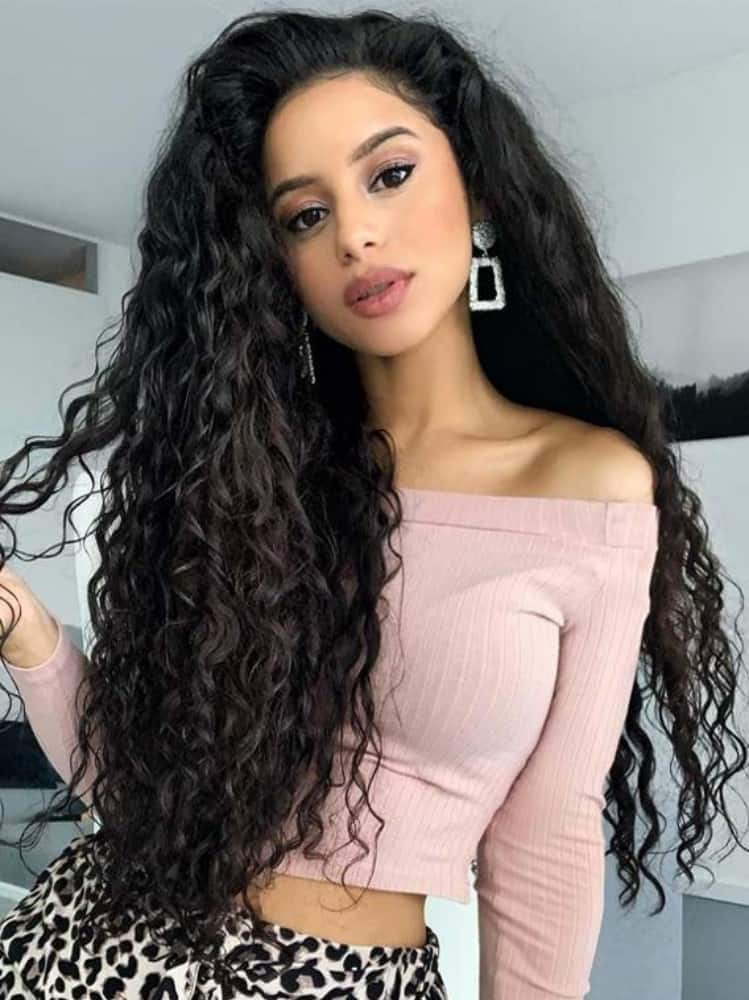 Gorgeous on Curly Hair