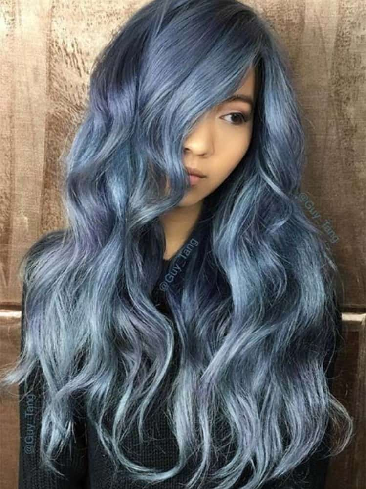 Long Blue Style Denim Shade