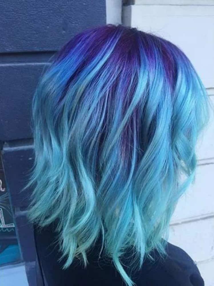 Mermaid Hair Light to Medium Blue