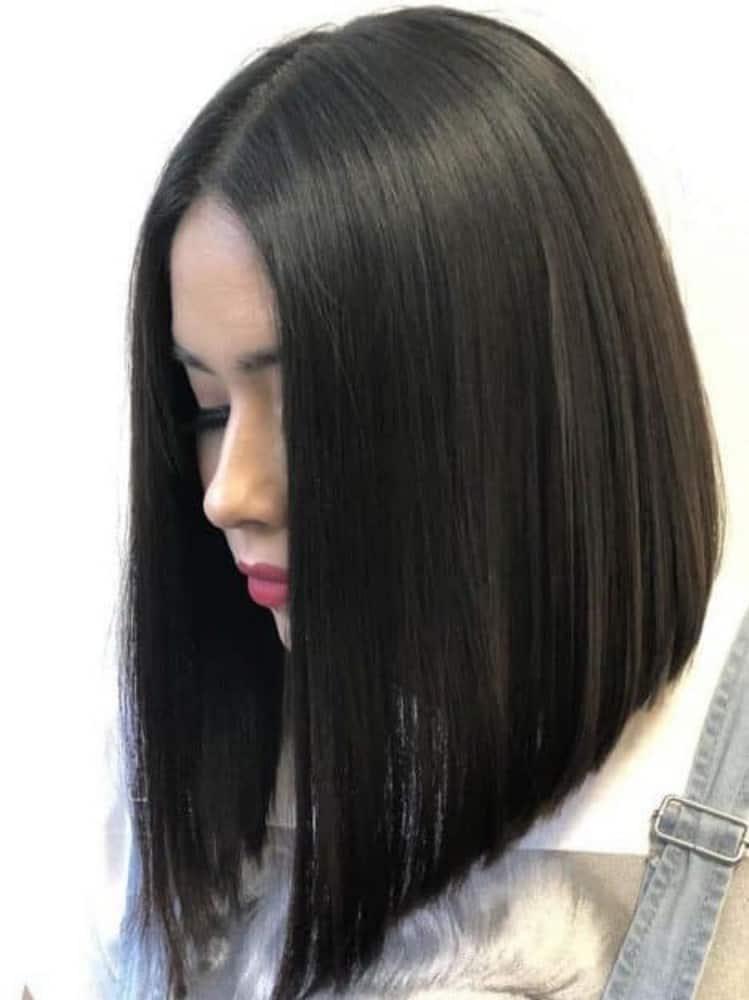 Natural Jet Black hair