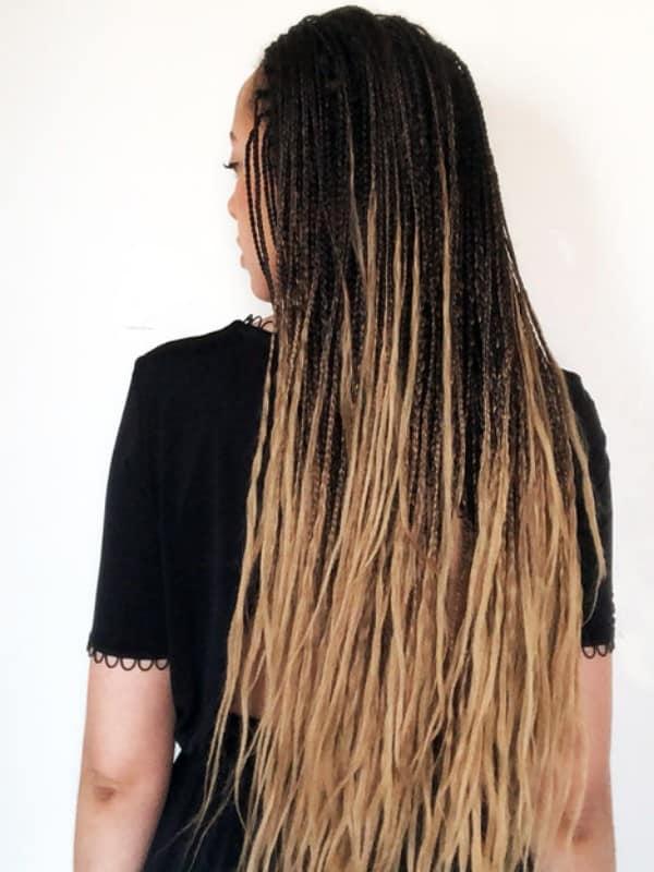 Ombre braids