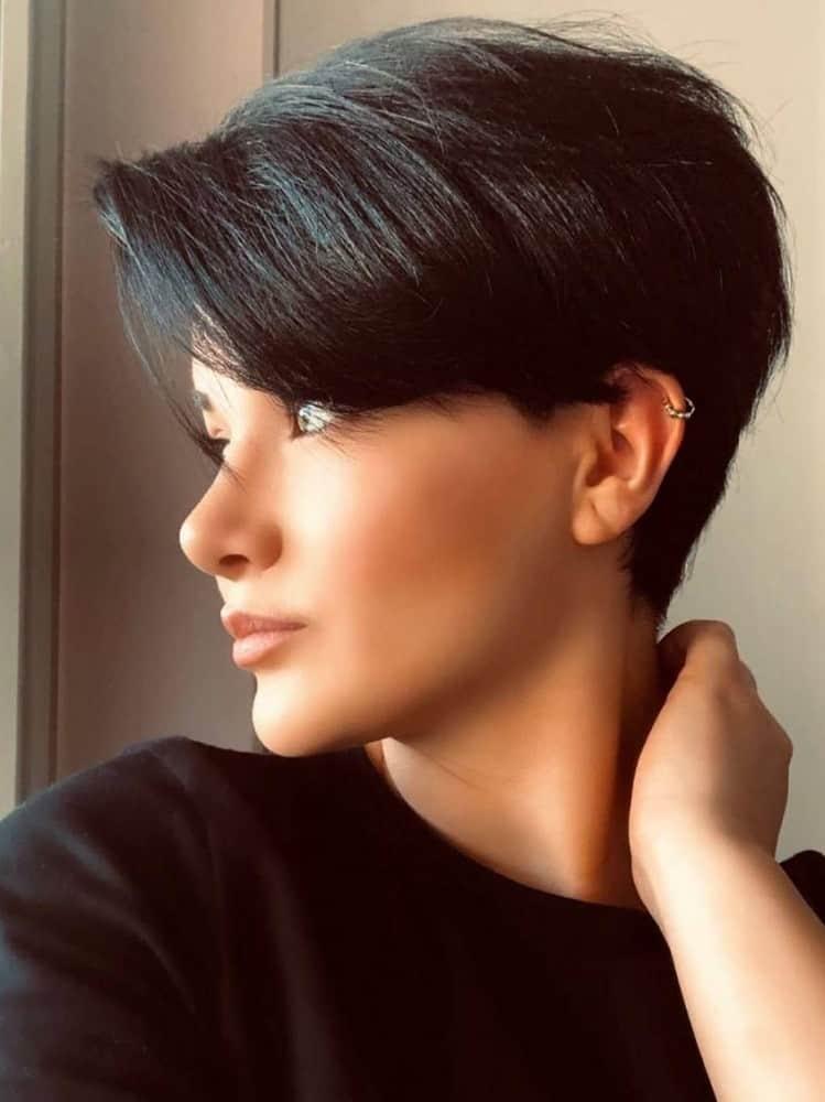 Stunning on Short Hair