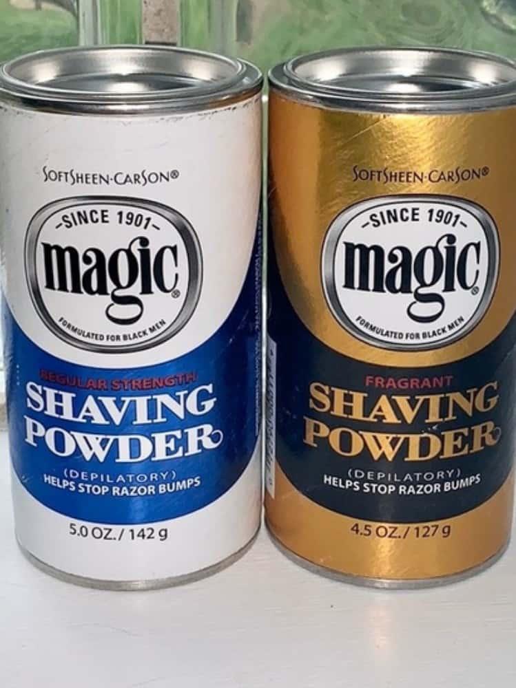 Tiktok Magic Shaving Powder