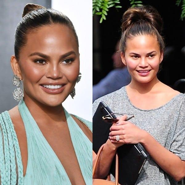 chrissy teigen without makeup