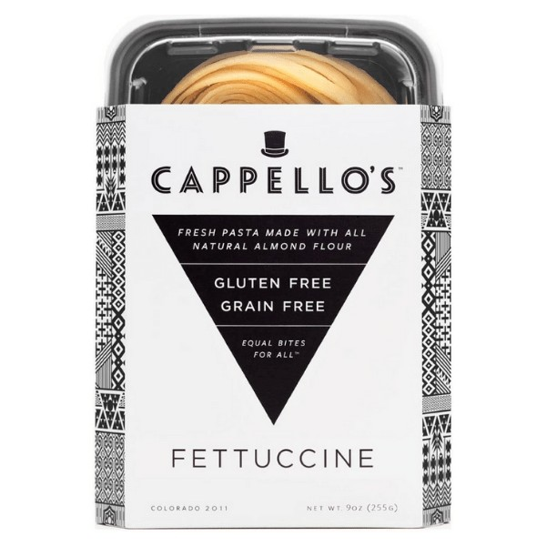 Cappellos Almond Flour Fettuccine