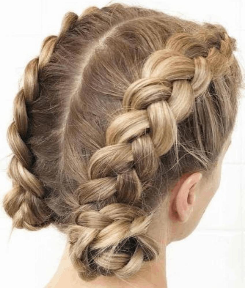 Dutch Braid for Short Hair