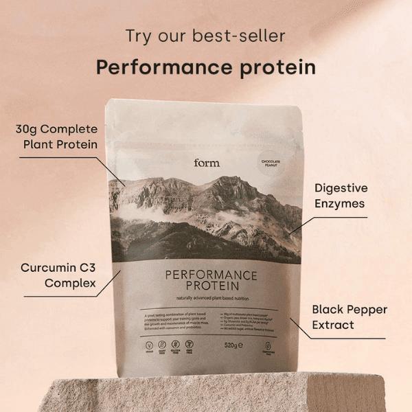 Form Performance Protein Chocolate Peanut