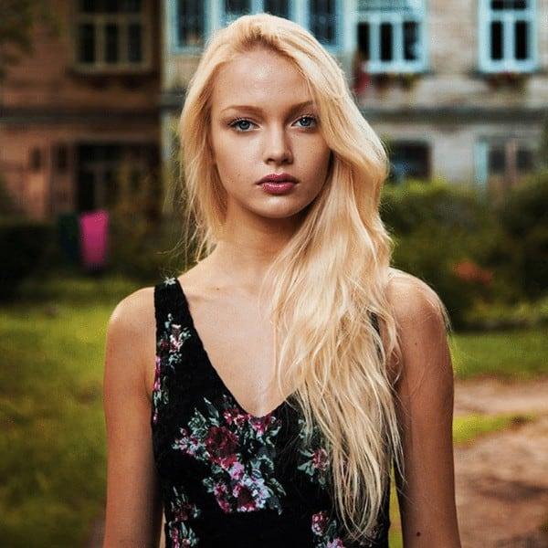 Latvia beautiful hairs