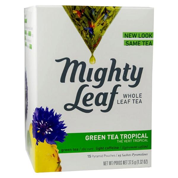 Mighty leaf tea green tea