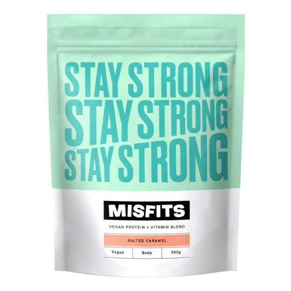 Misfits Vegan Salted Caramel Protein Powder