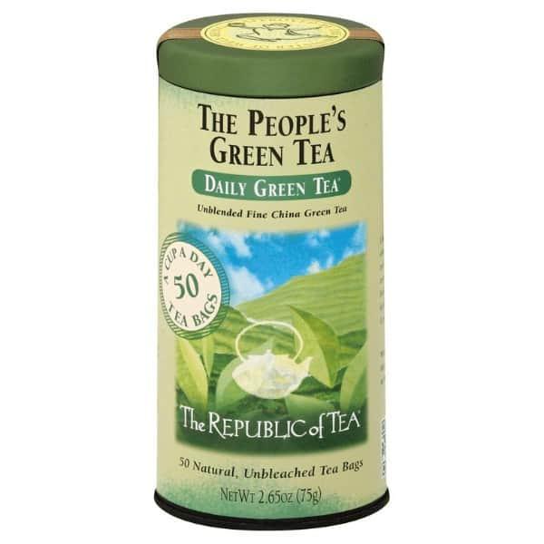 Republic of tea green tea