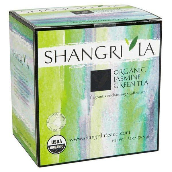 Shangri La green tea