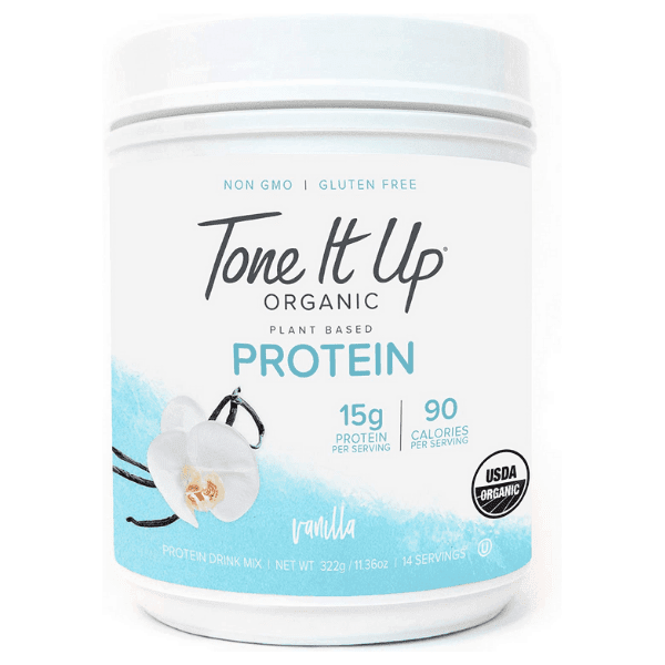 Tone It Up: Plant-based Protein Powder