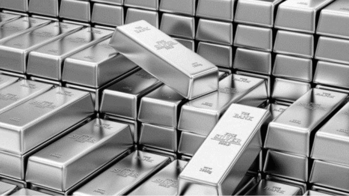 silver price hits