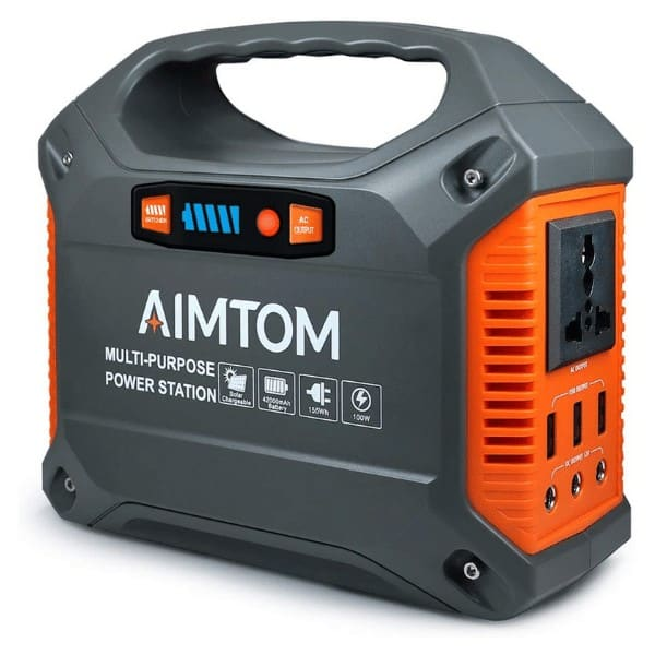 AIMTOM 42000mAh 155Wh Power Station
