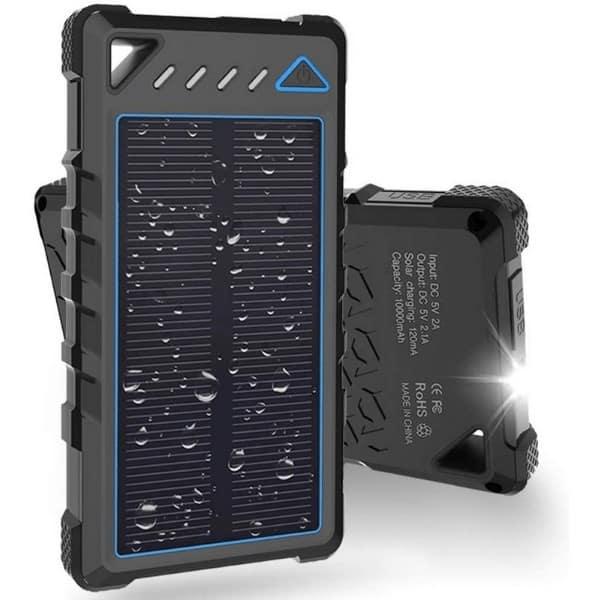 BEARTWO 10000mAh Portable Solar Charger