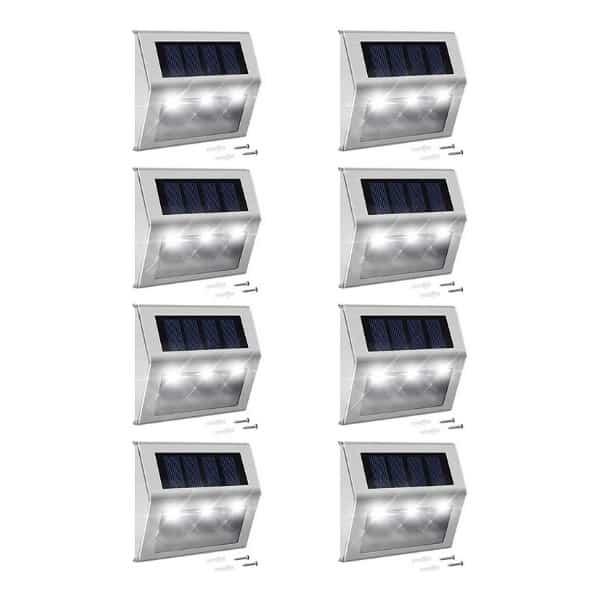 Best Step Lights: JACKYLED Solar Step Lights