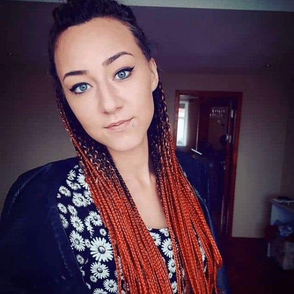 Brown Ombre braids