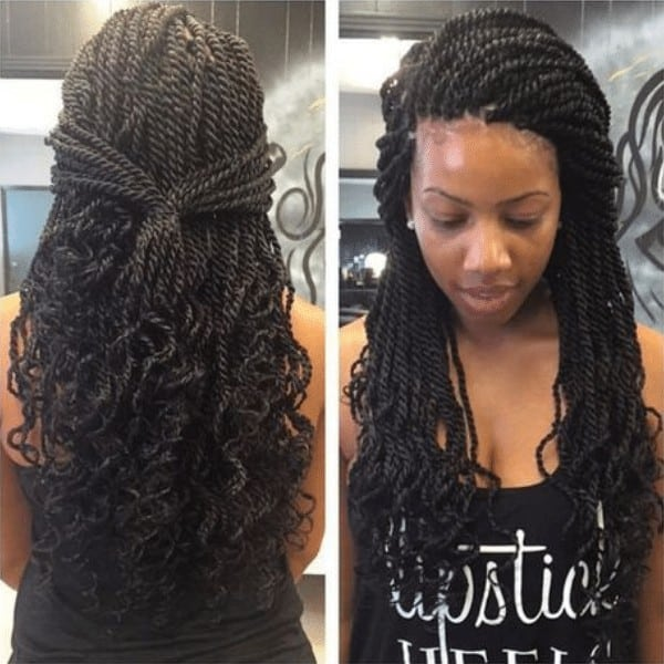 Curly Senegalese