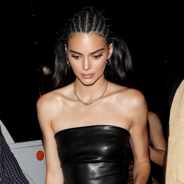 Kendall Jenner and Cornrow Braids