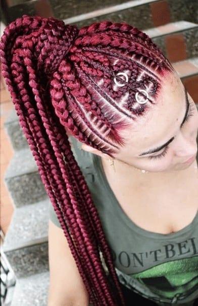 Medium Ghana braids