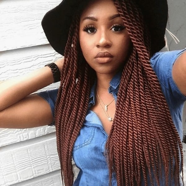 Senegalese Brownish gorgeous twists