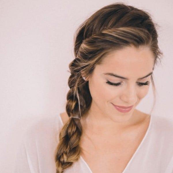 Side twisted braids
