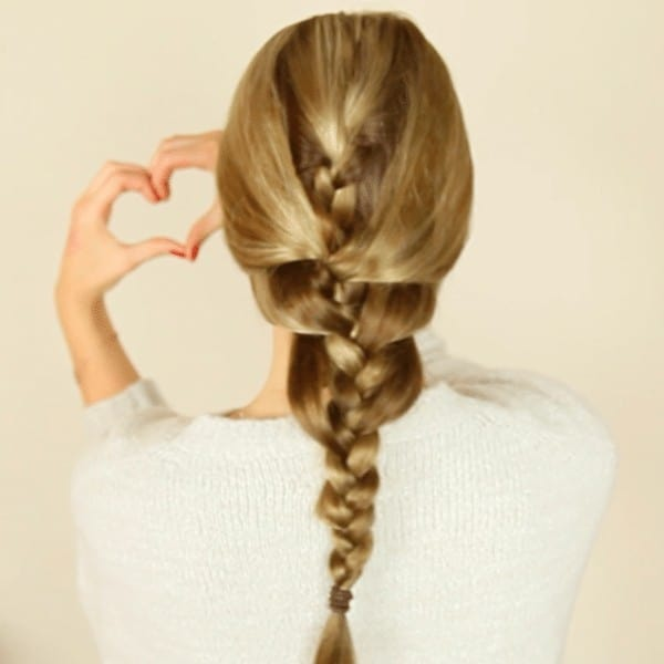 The Relaxed Fishtail Braid
