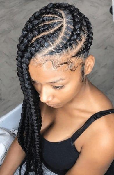 Vortex Ghana braids