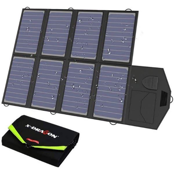 X-DRAGON 40W SunPower Solar Panel Charger