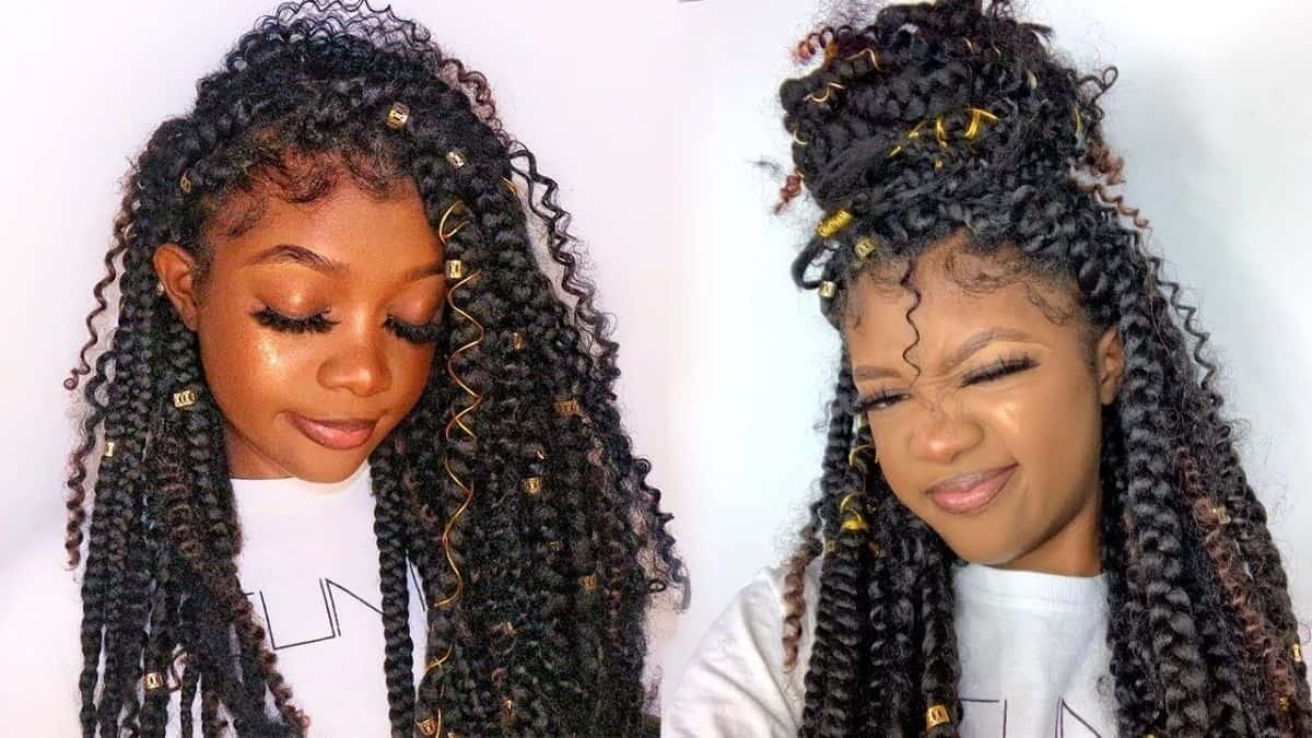 How to do Goddess braids