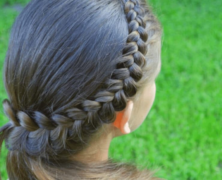 how to do French braid