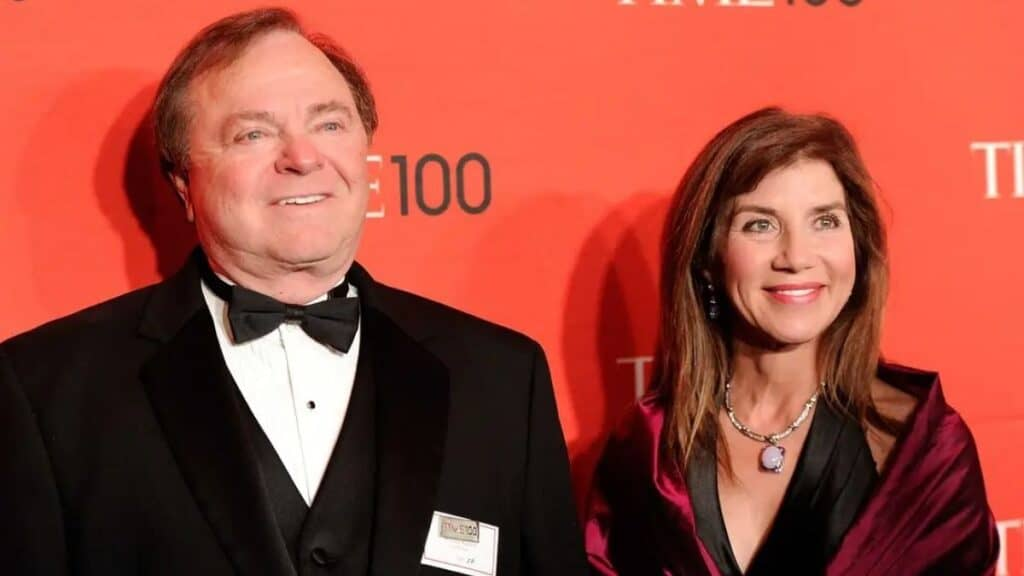 Harold Hamm and Sue Ann Hamm