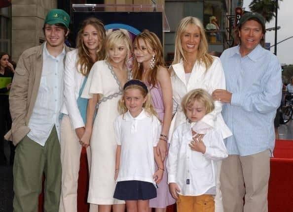 Family of Olsen twins
