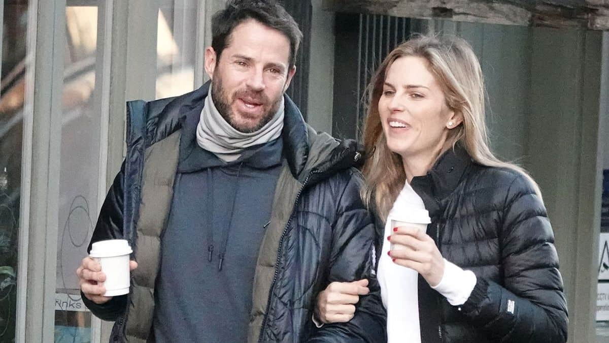 Jamie Redknapp And Pregnant Girlfriend Frida Andersson Joined By Sons On Date Night At Wembley