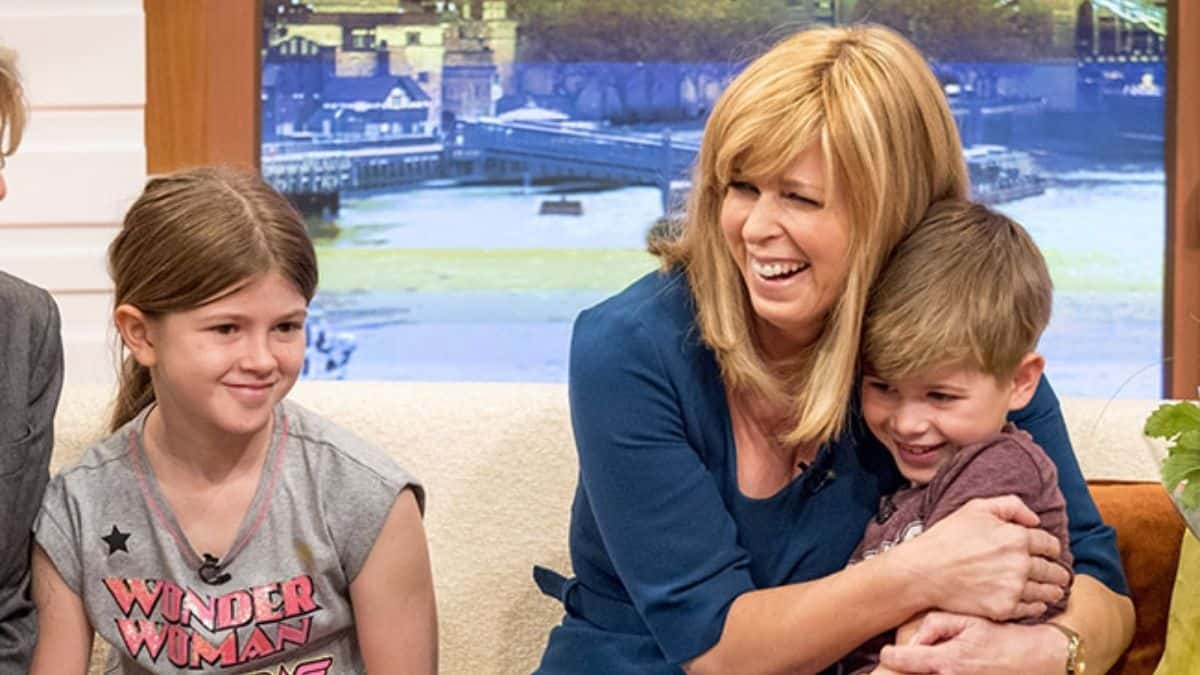 Kate Garraways Son Suffers Funny Mishap During England Football Celebrations