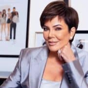 Kris Jenner With Her Natural Look With No Makeup While Out