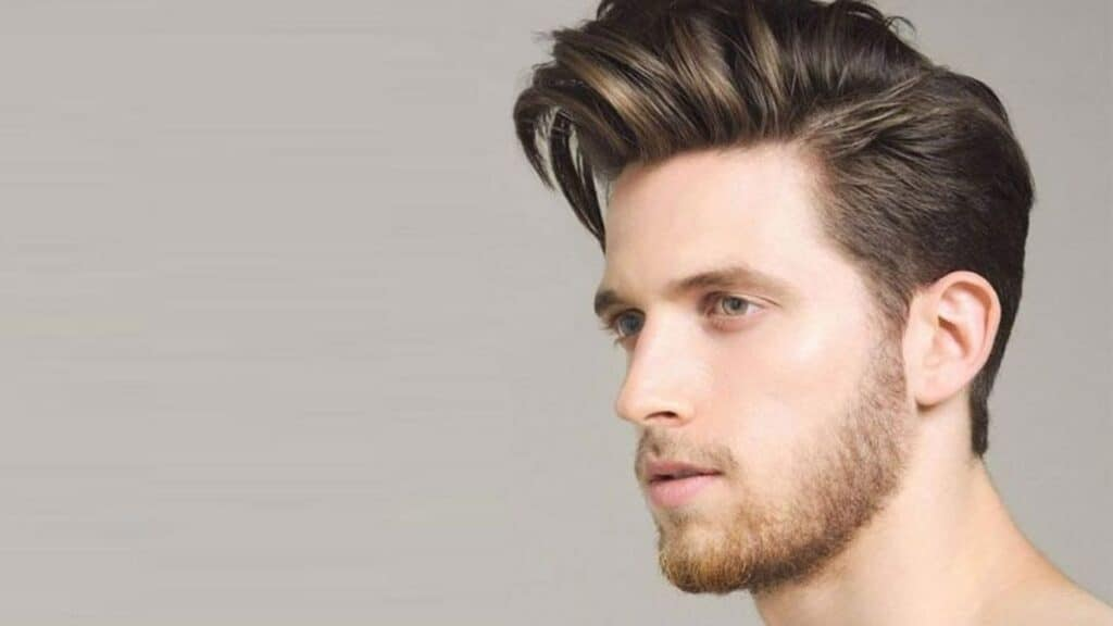 Styling Pompadour With Hair Wax