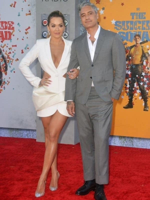 Rita Ora makes red carpet debut